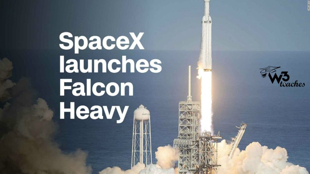 SpaceX launches Falcon Heavy