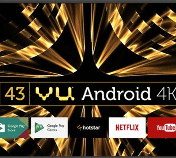 Smart 4k Vu Android tv